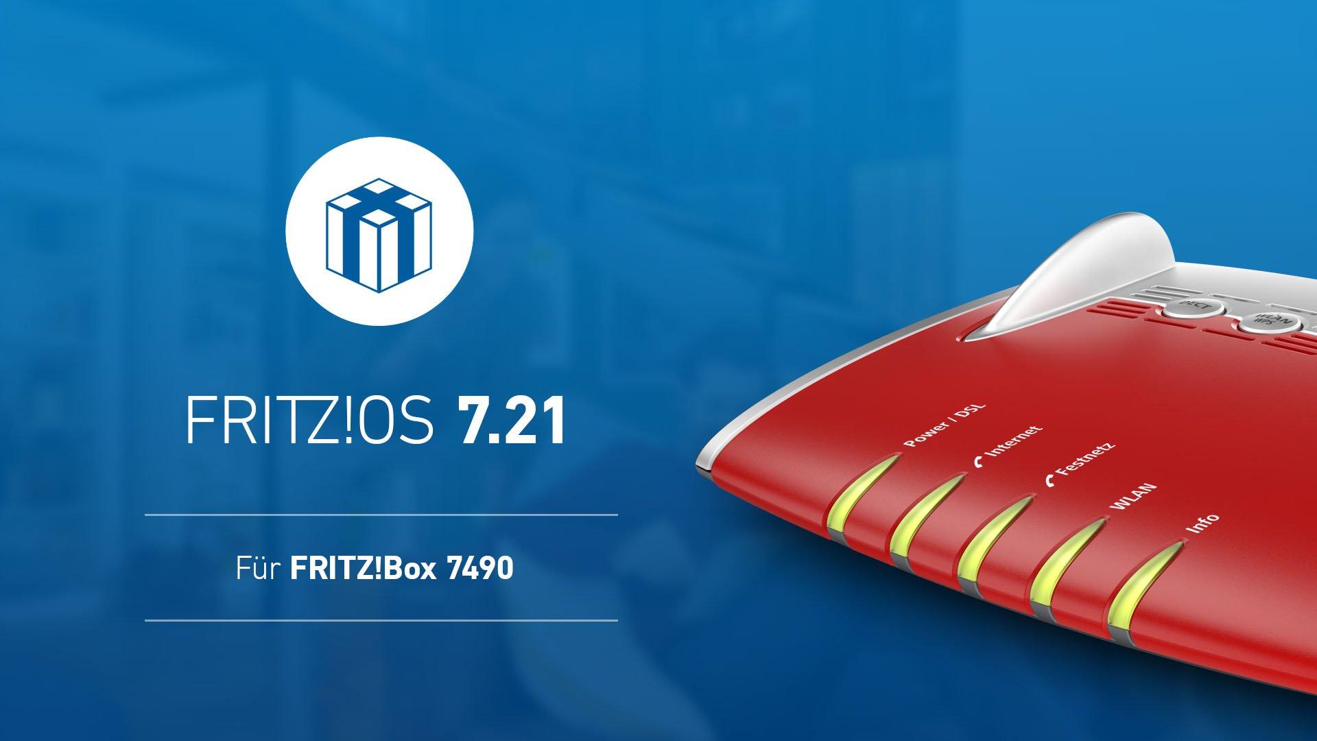 FritzBox 7490 7.21
