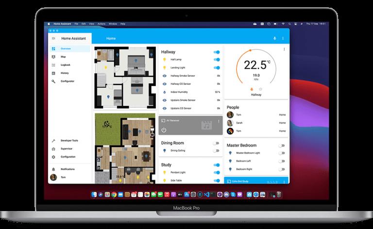 Home Assistant für macOS als Beta Version