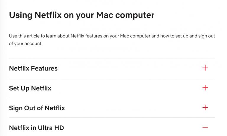 4K Netflix nur auf Macs mit T2 Chip
