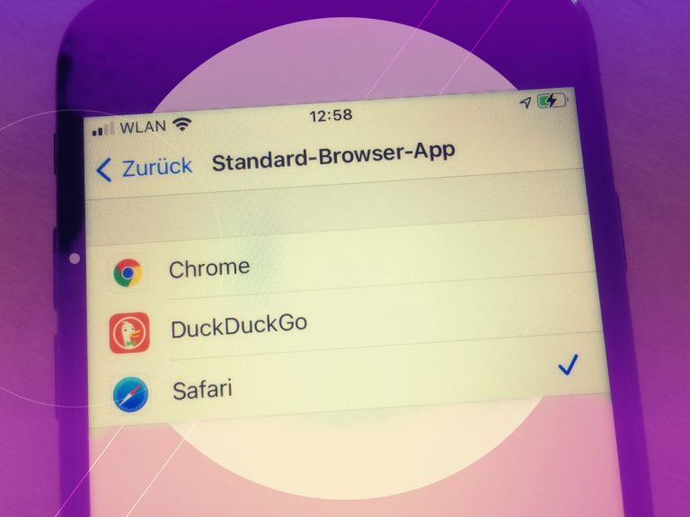 iOS 14: Standardbrowser ändern