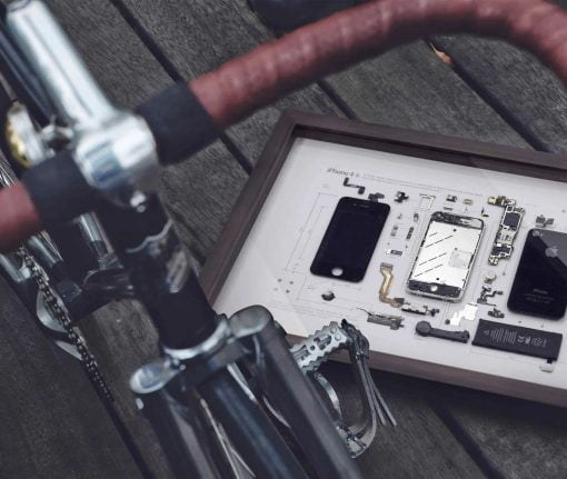GridStudio iPhone 4S Art Piece Bike