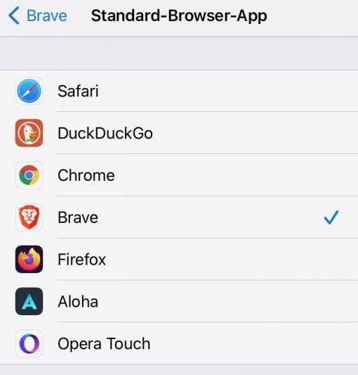 Standard Browser App