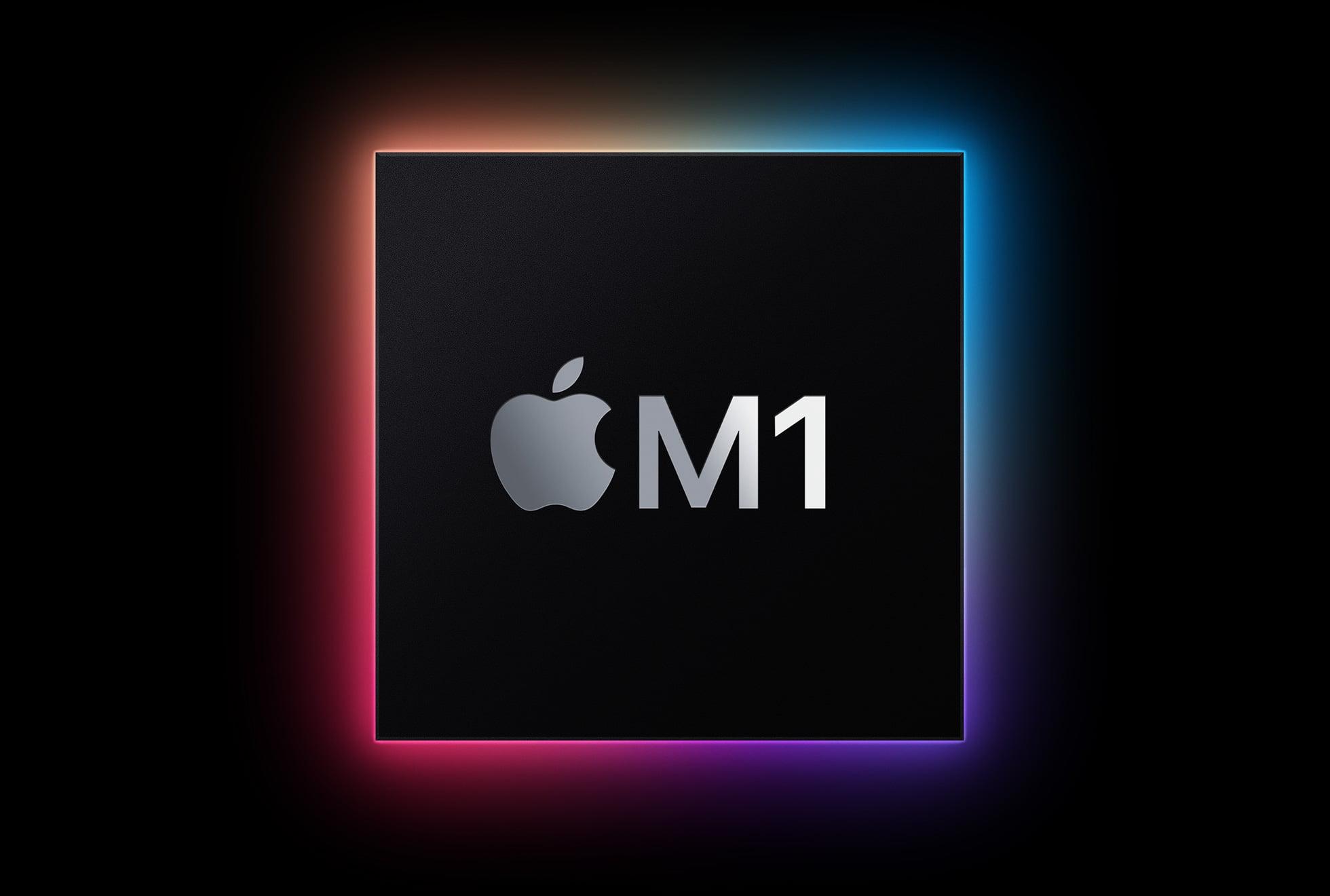 Apple new m1 chip graphic 11102020