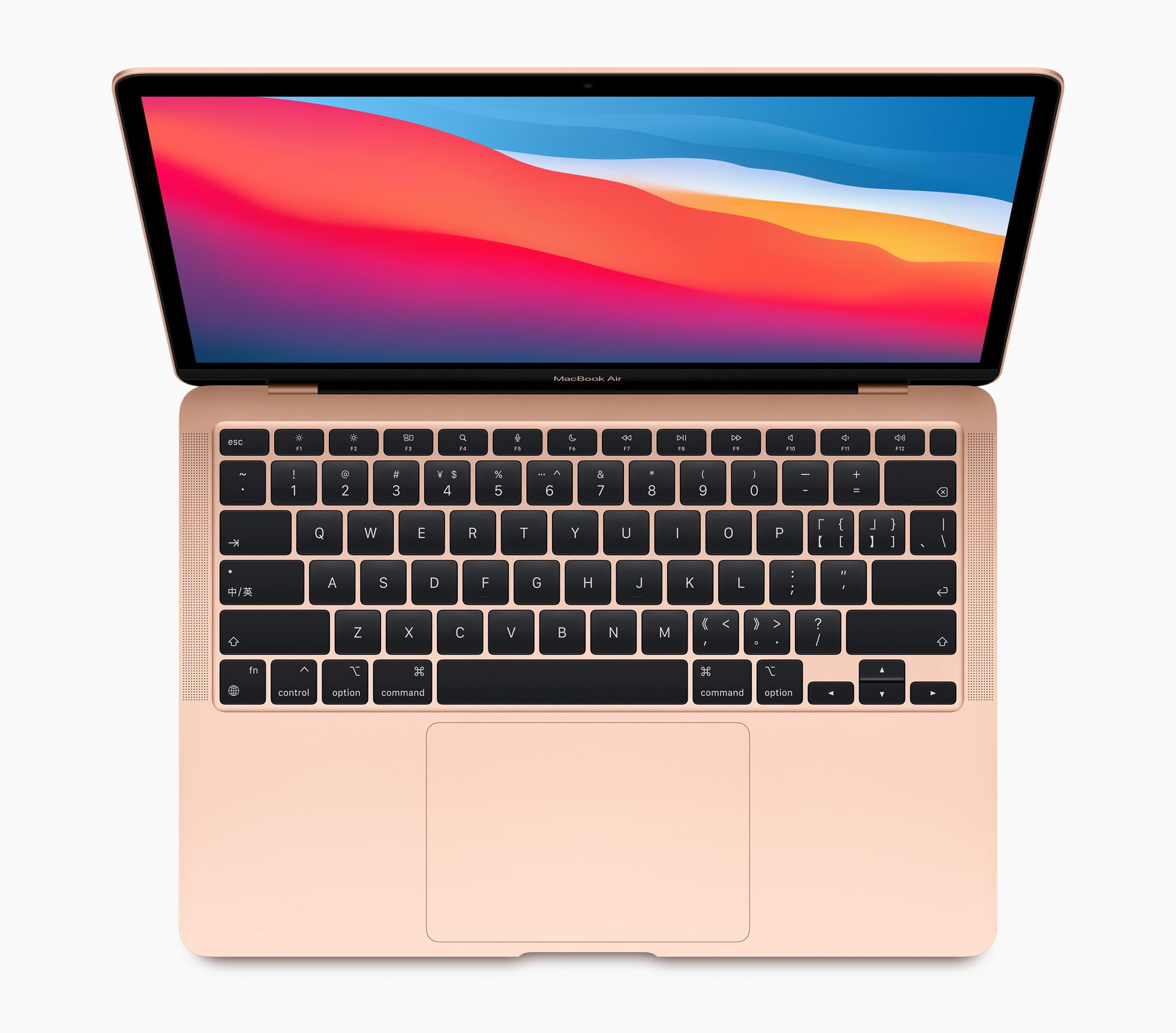 Apple new macbookair wallpaper screen 11102020