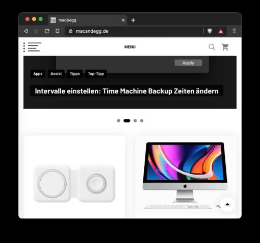 Brave Browser Design