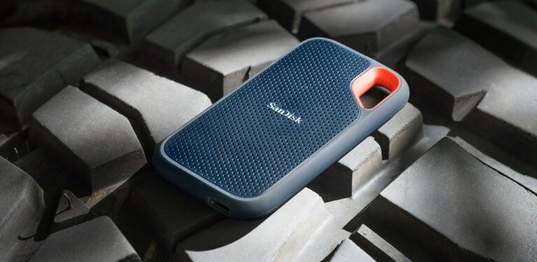 Externe 4 TB SSDs von Western Digital und SanDisk