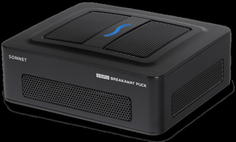 Sonnet Breakaway Puck eGPU für Intel Macs mit RX 5700 und RX 5500 XT