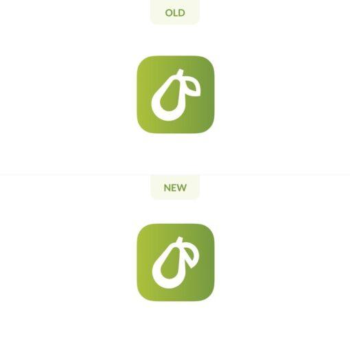 Prepear Icon Old vs New 2021