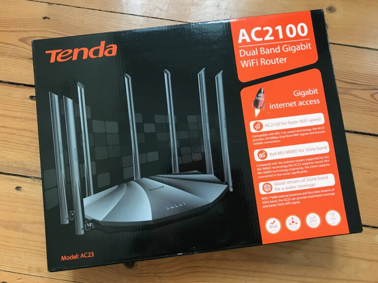 Review: Tenda AC23 AC2100 WLAN Router im Test