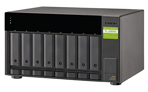 35245 6 qnap tl d800c 8 bay desktop jb