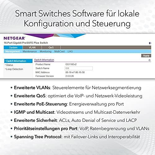 35744 3 netgear gs324t switch 24 port
