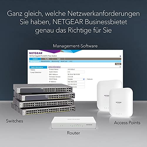 35744 5 netgear gs324t switch 24 port