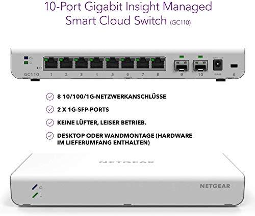 35757 2 netgear gc110 10 port gigabit