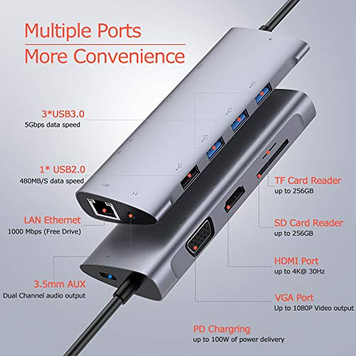 37456 2 usb c hub typ c hub adapter m