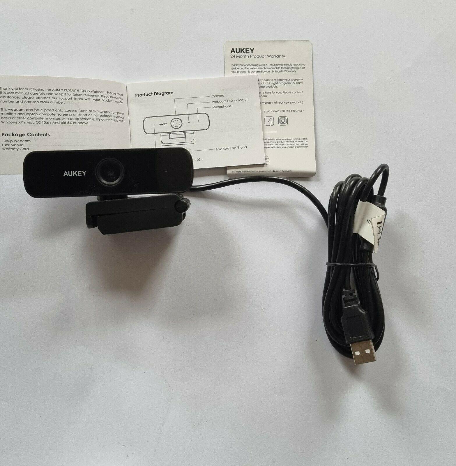38980 1 aukey webcam 1080p full hd mit