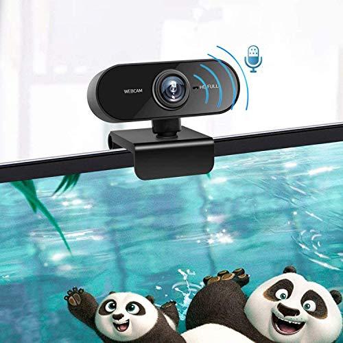 39013 8 webcam mit mikrofon und stativ