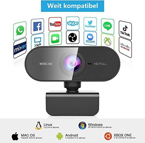 39013 9 webcam mit mikrofon und stativ