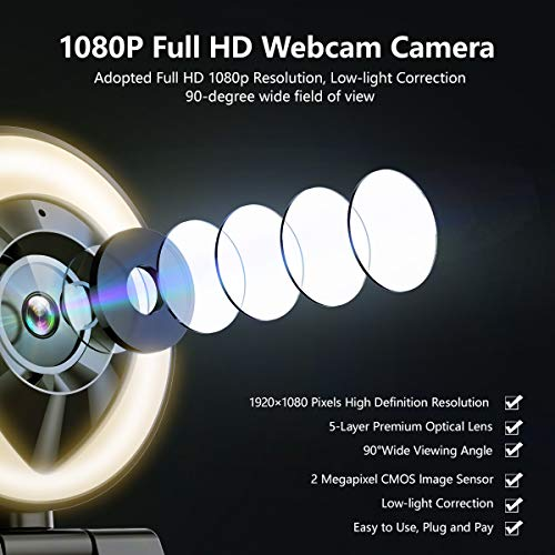 39047 3 1080p webcam mit mikrofon ful