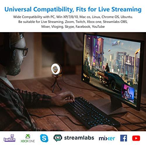 39047 7 1080p webcam mit mikrofon ful