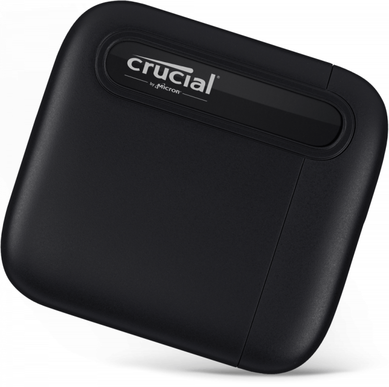 Crucial X6 Portable SSD mit bis zu 4TB