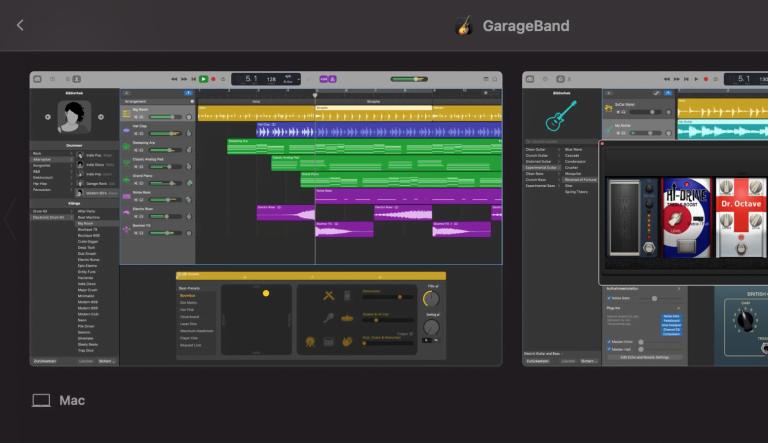 Sicherheitsupdate für GarageBand auf macOS Big Sur