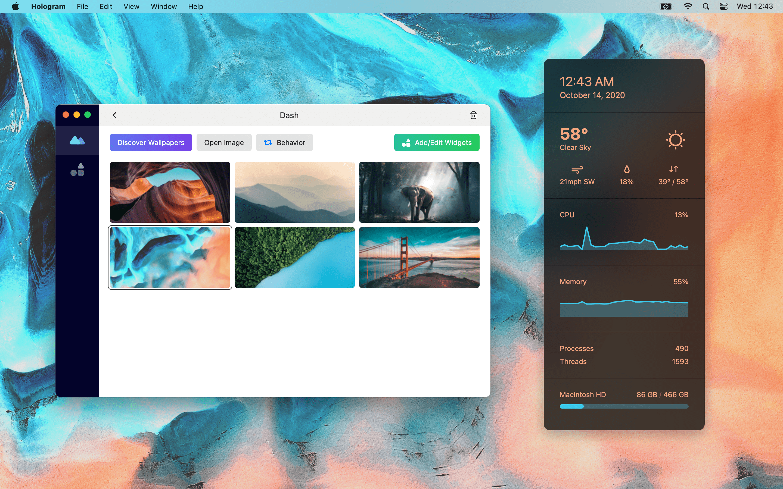 edit theme desktop