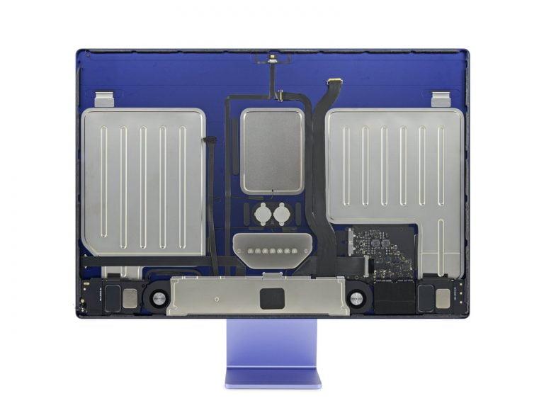 ifixit zeigt M1 iMac 24″ von innen