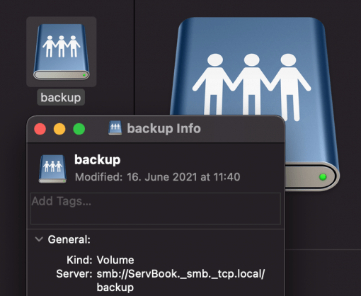4 Find macOS SMB network path