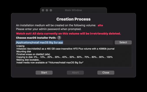 AnymacOS Installer Creation