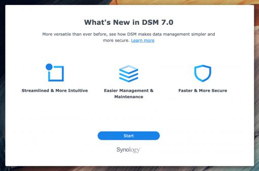 DSM 7 Whats new