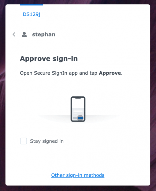 10 DSM log in via app