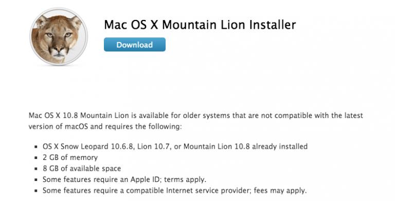 Mac OS X Lion und Mountain Lion als Gratis-Download