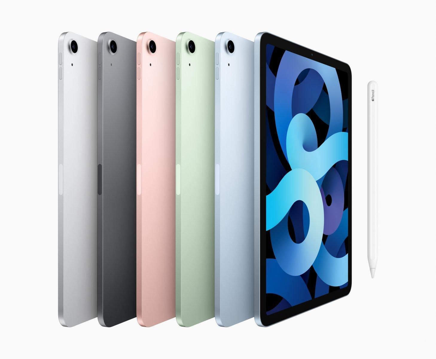 apple ipad air availability colors 10162020