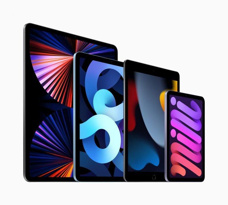 Neues iPad mit CenterStage Kamera, iPad mini in neuem Design