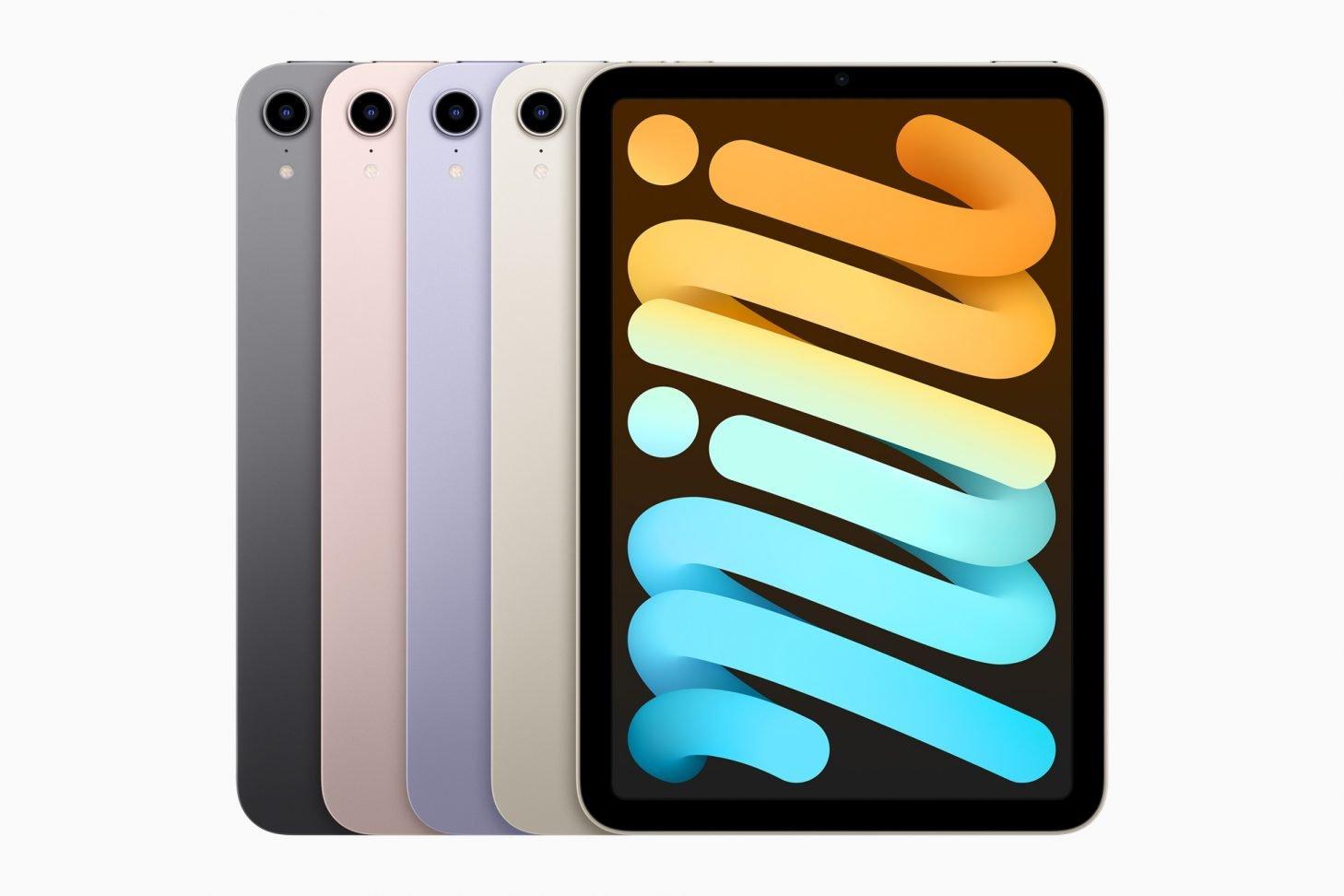Apple iPad mini colors 09142021 1