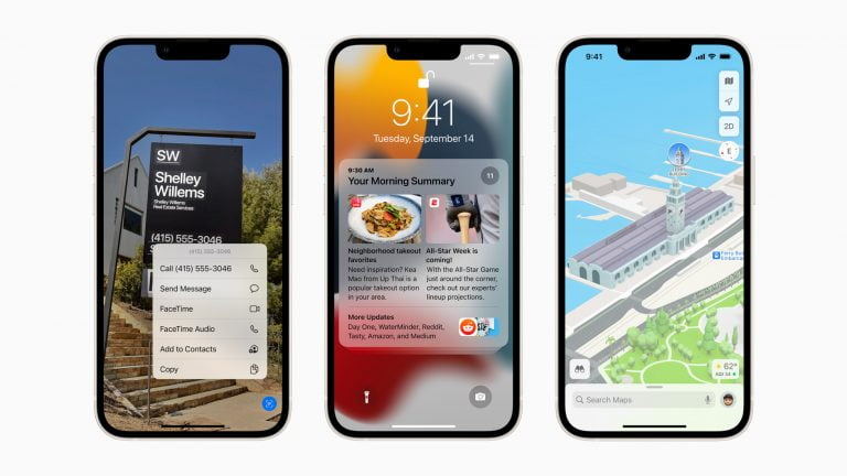iOS in Version 15.0.1