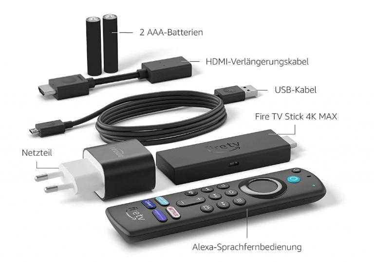 Amazons Fire TV Stick 4K Max ist erhältlich